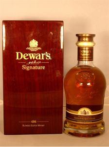 Picture of Dewar's Signature