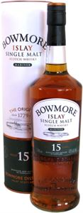 Picture of Bowmore 15 Year Old Mariner 0.7l with gift box/  Islay Single Malt Scotch Whisky