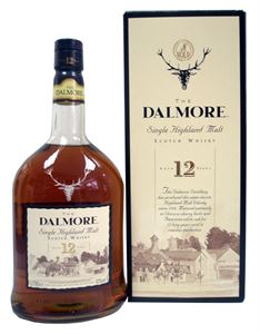 Picture of Dalmore 12 Year Old 1.0l 43% vol. incl. gift box
