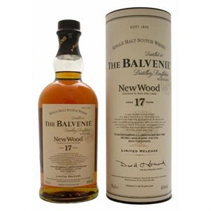 Εικόνα της Balvenie 17 Year Old New Wood 0.7l 40% vol./ Limited Release