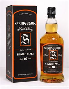 Picture of Springbank 10 Year Old 0.7l 46% vol.