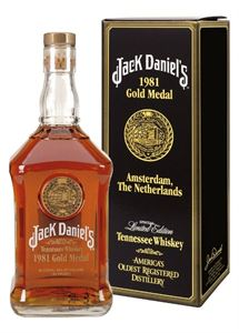 Picture of Jack Daniel's 1981 Gold Medal 1.0l 45% vol./ Tennessee Whiskey