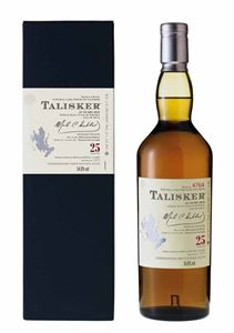 Picture of Talisker 25 Year Old, 2009 Natural Cask Strength 0.7l 54,8% vol.