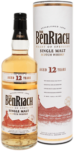 Picture of BenRiach Authenticus 12 Year Old 43% vol.