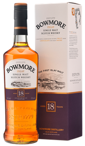 Picture of Bowmore 18 Year Old 70cl 43% vol./ Islay Single Malt Whisky