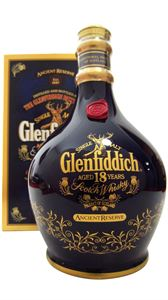 Picture of Glenfiddich 18 Year Old Ancient Reserve Green Spode 75cl incl. gift box