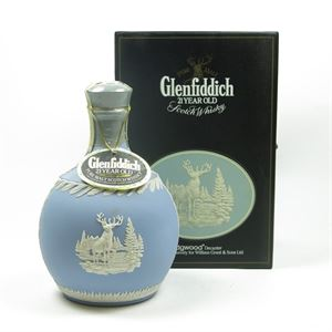 Picture of GLENFIDDICH 21 YEAR OLD  Wedgewood Decanter 70cl / 43%