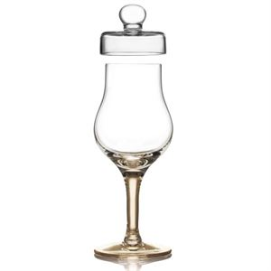 Picture of AmberGlass Hand Made Whisky Glass 14cl G101 Gold Version