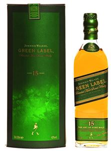 Picture of Johnnie Walker Green Label 15 Year Old 0.2l