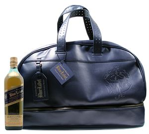 Εικόνα της Johnnie Walker Blue Label in Leather Bag
