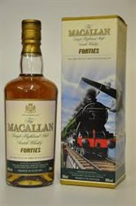 Picture of The Macallan Forties Whiskey 0.5l