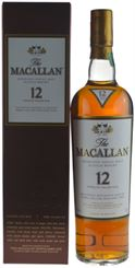 Picture of The Macallan Sherry Oak 12 Year Old 0.7l incl. gift box