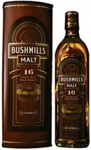 Εικόνα της Bushmills Malt 16 Year Old 0.7l / Matured in 3 casks/ Irish Whiskey