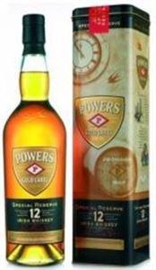 Εικόνα της John Powers 12 Year Old Gold Label 0.7l/ Special Reserve Original Bottling/ Whiskey from Ireland incl. gift box