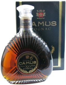 Picture of Camus XO Superior Cognac 0.35l in gift pack