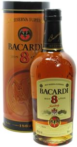 Εικόνα της Bacardi 8 Υear Old Reserva Superior 0.7l