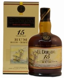 Picture of El Dorado 15 Year Old Special Reserve, in gift pack