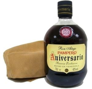 Picture of Pampero Aniversario Reserva Exclusiva 0.7l 40% vol./ Brown Rum from Venezuela