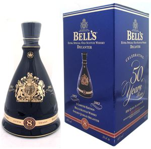 Picture of Bell's Queen's Golden Jubilee 50 Years 1952-2002 0.7l 40% vol./ Limited Edition
