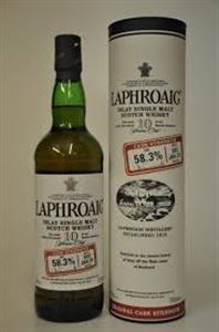 Εικόνα της Laphroaig 10 Year Old Batch 002 Cask Strength 0.7l 58,3% vol.