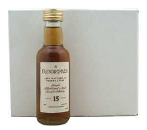 Picture of The Glendronach 15 Year Old 0.05l/ 100% Matured in Sherry casks