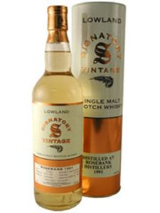 Picture of Rosebank 13 Year Old 1991 by Signatory, 0.7l 43% vol./ Single Malt Whisky, Single Cask