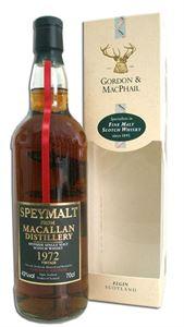 Εικόνα της The Macallan 1972 SpeyMalt 35 Year Old 43% vol. / Bottled in 2008
