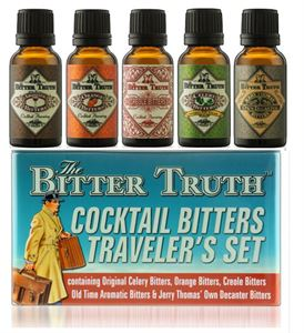 Picture of Bitter Truth Cocktail Bitters, Traveler's Set