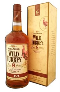 Picture of Wild Turkey 8 Year Old 101 Proof 70cl 50,5% vol./ Kentucky Straight Bourbon Whiskey