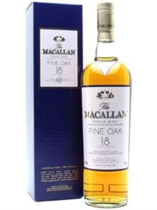 Εικόνα της The Macallan Fine Oak Whisky 18 Year Old 0.7l 43% vol./ Single Malt from Speyside