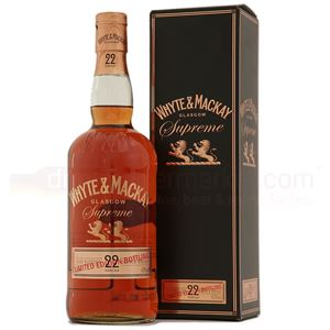 Picture of Whyte & Mackay 22 Year Old Supreme 43% vol.