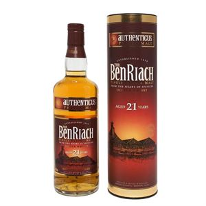 Picture of BenRiach Authenticus 21 Year Old 46% vol.