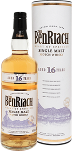 Picture of BenRiach Authenticus 16 Year Old 43% vol.