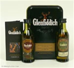 Picture of Glenfiddich 15 + 18 Year Old 50ML 40% vol.