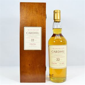 Picture of CARDHU 1982  22 Year Old 70cl / 57.8%